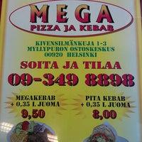 8/10/2012にHerkko V.がMega Pizza & Kebabで撮った写真