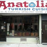 Снимок сделан в Anatolia Restaurant пользователем Felipe V. 2/17/2012
