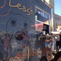 Photo taken at Short Leash Mobile Hot Dog Eatery by Alan S. on 6/16/2012