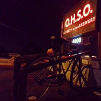 Photo taken at O.H.S.O. Eatery + nanoBrewery by Cristopher on 9/4/2012