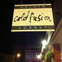 Foto diambil di Cold Fusion Gelato oleh Tina F. pada 9/3/2012