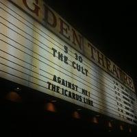 Снимок сделан в Ogden Theatre пользователем Gavin O. 5/31/2012