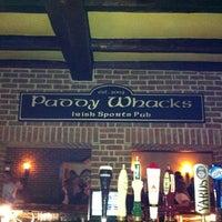 Снимок сделан в Paddy Whacks Irish Sports Pub пользователем Brandon D. 2/19/2012
