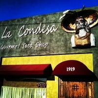 Photo taken at La Santisima by Stephanie B. on 5/16/2012
