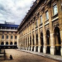 9/13/2012にRicardo D.がJardin du Palais Royalで撮った写真