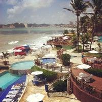 Foto tirada no(a) Ocean Palace Beach Resort & Bungalows por Anderson C. em 3/26/2012