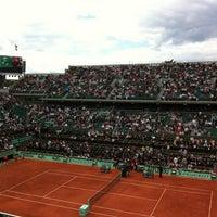Foto tomada en Court Philippe Chatrier por Stéphanie L. el 6/9/2012