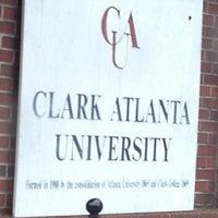 รูปภาพถ่ายที่ Clark Atlanta University โดย Miss Nellom เมื่อ 9/4/2012