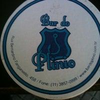 Foto tirada no(a) Bar do Plinio por Marcos W. em 2/4/2012