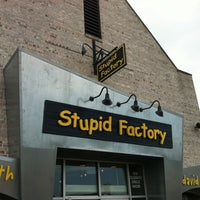 Photo Taken At Stupid Factory By Marc On 7 28 2017