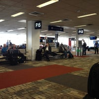 Photo taken at Gate F13 by Grant R. on 2/22/2012