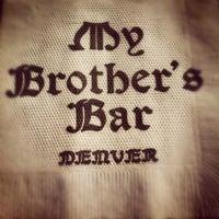 Foto scattata a My Brother's Bar da Aaron W. il 7/14/2012