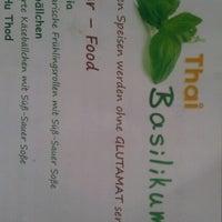 Das Foto wurde bei Thai Basilikum von Tino S. am 7/27/2012 aufgenommen