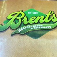 9/4/2012 tarihinde Armando C.ziyaretçi tarafından Brent's Deli'de çekilen fotoğraf