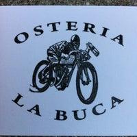 Foto diambil di Osteria La Buca oleh Nelson R. pada 4/20/2012