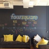 Das Foto wurde bei Foursquare HQ von Jenny D. am 5/11/2012 aufgenommen