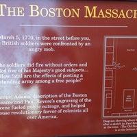 Foto tirada no(a) Boston Massacre Monument por Matt M. em 8/22/2012