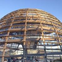 9/1/2012にAndresがReichstagskuppelで撮った写真