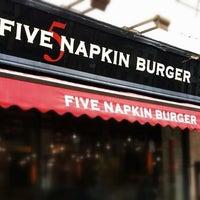 5 Napkin Burger Burger Imbiss In New York
