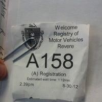 8/30/2012에 Jason R.님이 Registry of Motor Vehicles에서 찍은 사진