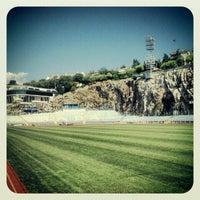 Das Foto wurde bei NK Rijeka - Stadion Kantrida von Josko J. am 8/14/2012 aufgenommen