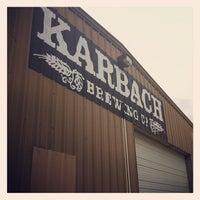 Снимок сделан в Karbach Brewing Co. пользователем David M. 6/8/2012