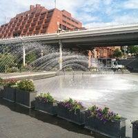 Foto tomada en Georgetown Waterfront Park por Michael R. el 8/28/2012