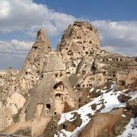 3/21/2012 tarihinde Murat A.ziyaretçi tarafından Uçhisar Kalesi'de çekilen fotoğraf