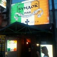 Снимок сделан в Boondock Pub пользователем Alex B. 8/3/2012