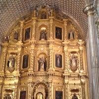 Foto tomada en Templo de Santo Domingo de Guzmán por Julieta P. el 3/18/2012