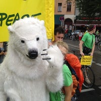 Photo prise au Critical Mass Berlin par Greenpeace B. le7/28/2012