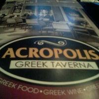 Снимок сделан в Acropolis Greek Taverna пользователем Bill C. 4/16/2012