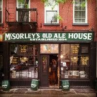 Photo prise au McSorley's Old Ale House par viskomenopatof le5/3/2012