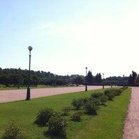 Снимок сделан в Марсово поле пользователем Госпожа L. 7/28/2012