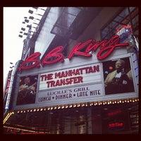 Das Foto wurde bei B.B. King Blues Club & Grill von Highline Ballroom am 6/19/2012 aufgenommen