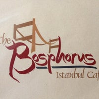 Photo taken at Bosphorus Istanbul Cafe by Chelsea O. on 8/24/2012