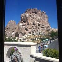 9/3/2012 tarihinde Yasin R.ziyaretçi tarafından Uçhisar Kalesi'de çekilen fotoğraf