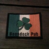 Снимок сделан в Boondock Pub пользователем Hannah 7/21/2012
