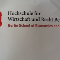 Das Foto wurde bei Hochschule für Wirtschaft und Recht (HWR) von Max K. am 8/10/2012 aufgenommen