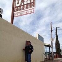 2/19/2012 tarihinde Sensewhen.com S.ziyaretçi tarafından O.K. Corral'de çekilen fotoğraf