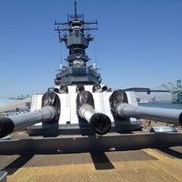 Das Foto wurde bei USS Iowa (BB-61) von Kevin N. am 7/9/2012 aufgenommen