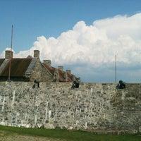 Foto tirada no(a) Fort Ticonderoga por Joan H. em 8/4/2012