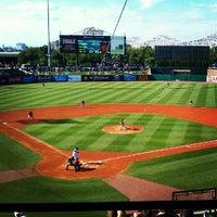Louisville Slugger Field Baseball Stadium In Central