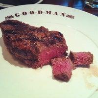 Снимок сделан в Goodman Steakhouse пользователем David K. 3/31/2012