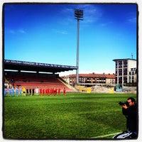 Foto scattata a Städtisches Stadion an der Grünwalder Straße da Gunnar J. il 4/10/2012