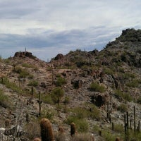 Photo taken at Phoenix Mountains Park and Recreation Area by Bo B. on 9/8/2012