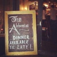 Снимок сделан в The Alchemist Bar & Cafe пользователем Jon H. 2/17/2012