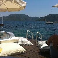 7/13/2012 tarihinde Damla 🎈🎈🎈 M.ziyaretçi tarafından Palace Beach Club'de çekilen fotoğraf