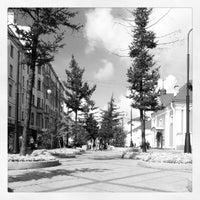 Снимок сделан в Андреевский бульвар пользователем Alexander S. 8/26/2012