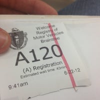 ... Photo taken at Registry of Motor Vehicles by Bryan on 6/22/2012